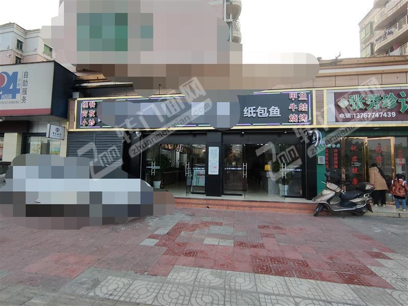 南康广场天街旁品牌餐饮店转让、也可转做其他餐饮、停车方便