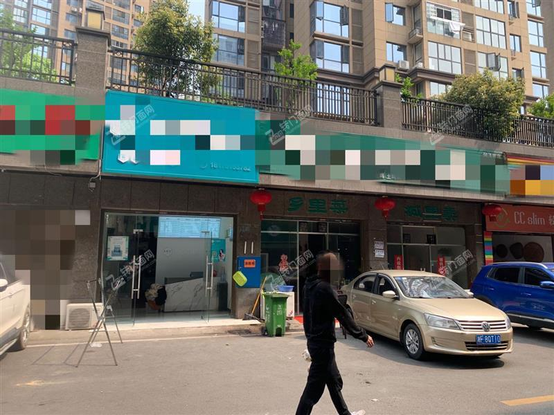 大型成熟社区出入口50㎡盈利干洗店转让(低租金)